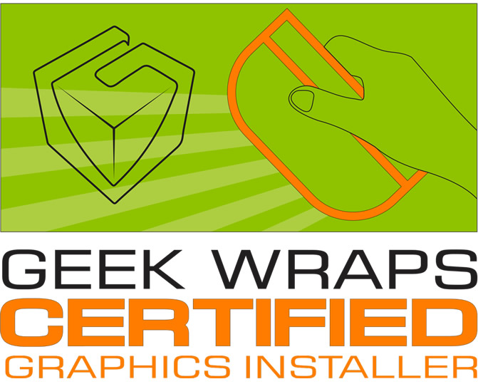 Geek Wraps Certified Graphics Installer